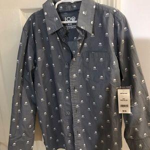 Boys size medium Joe Fresh button up shirt